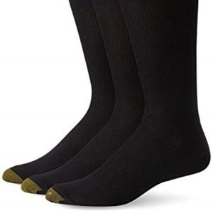 Gold Toe Men's Metropolitan Dress Sock 3 Pack
